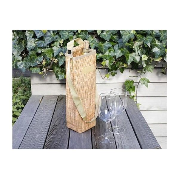 Termo taška na víno Kikkerland Wicker