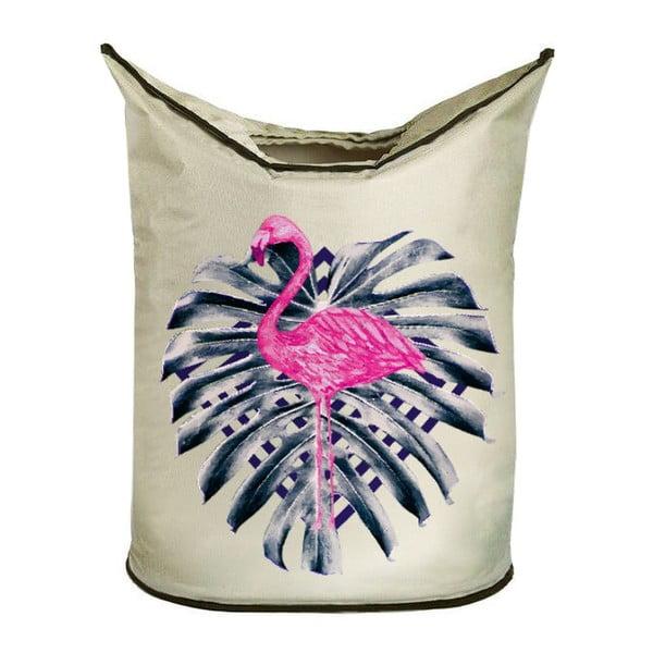 Koš na prádlo Pink Flamingo