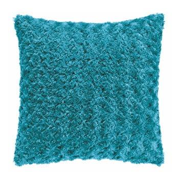 Pernă Tiseco Home Studio Curl, 45 x 45 cm, albastru turcoaz imagine
