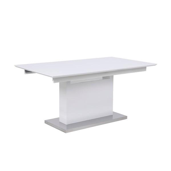 Bílý rozkládací jídelní stůl Actona Trace