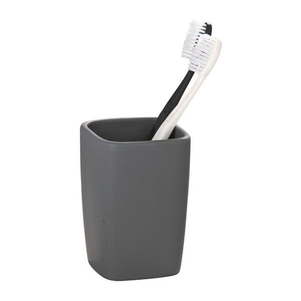 Faro szürke kerámia fogkefetartó pohár - Wenko