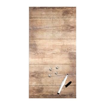 Tablă magnetică Styler Wood, 30 x 60 cm imagine