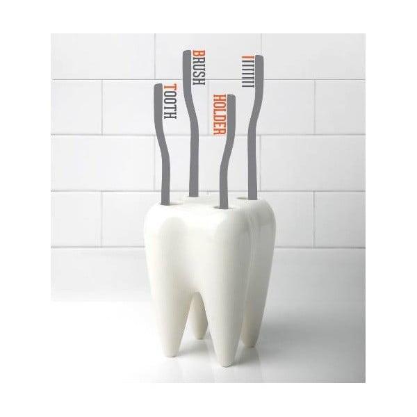 Zoubek na kartáčky Tooth, bílý