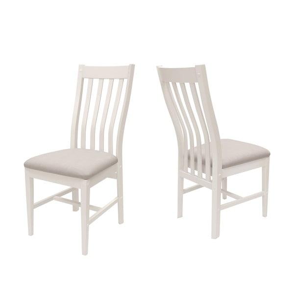 Bílá židle Canett Skagen Pure