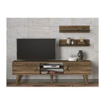 Set comodă TV și 2 rafturi Legato de la Tera Home