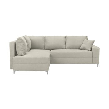 Canapea extensibilă Windsor & Co Sofas Zeta bej partea stângă