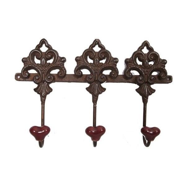 Vintage Keys fogas 3 akasztóval - Antic Line