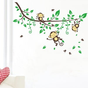 Samolepka Monkeys on Tree