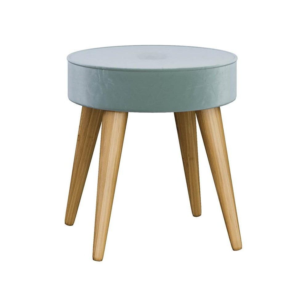 Stolička v mentolové barvě InArt Mugda