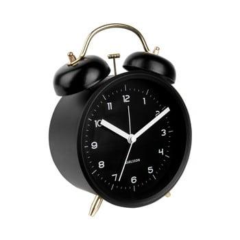 Ceas alarmă Karlsson Classic, negru de la Karlsson