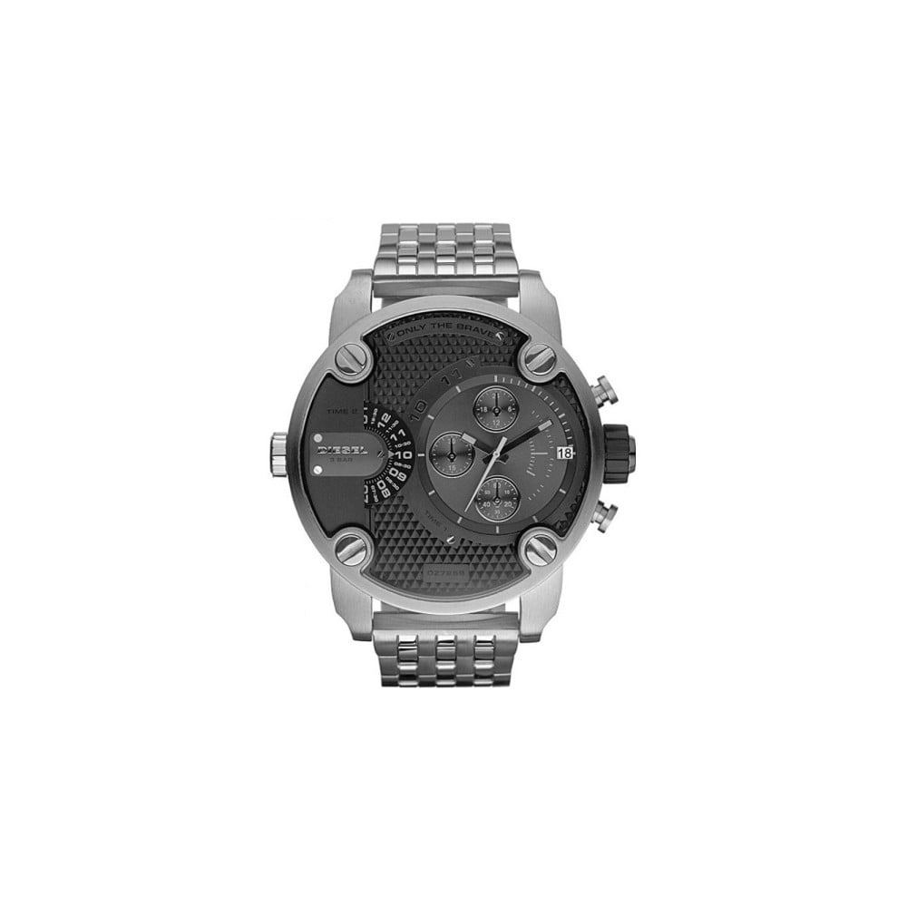 ae1a5db5e5f Stříbrné pánské hodinky Diesel DZ7259