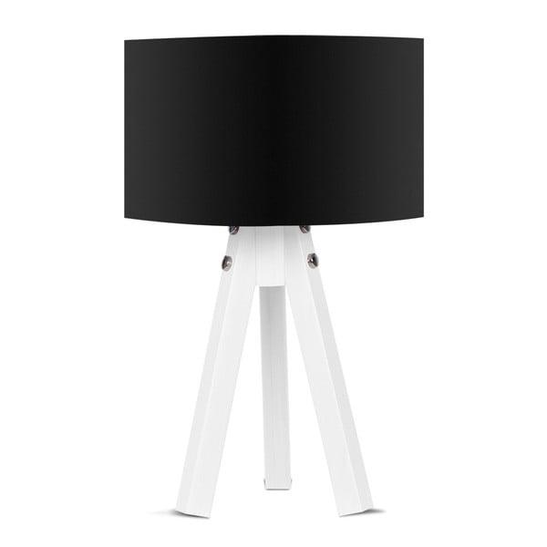 Stolní lampa s černým stínítkem Kate Louise Bianca
