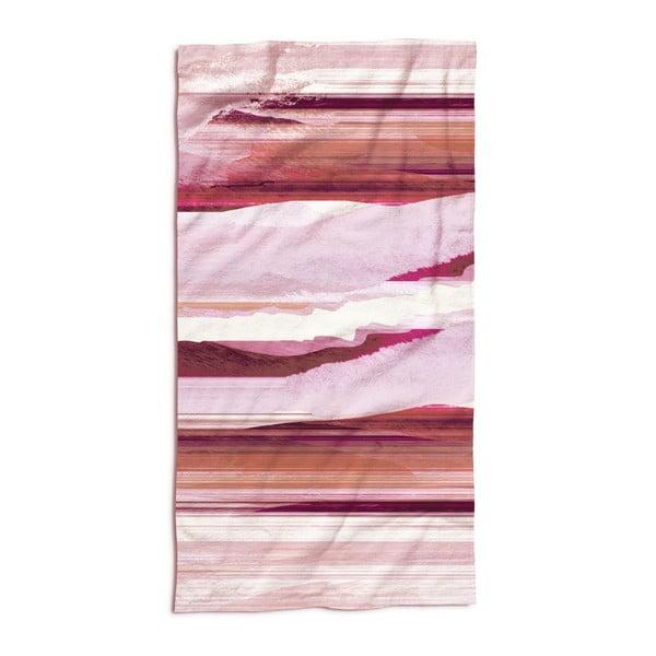 Osuška Essenza Mooa Pink, 100x180 cm