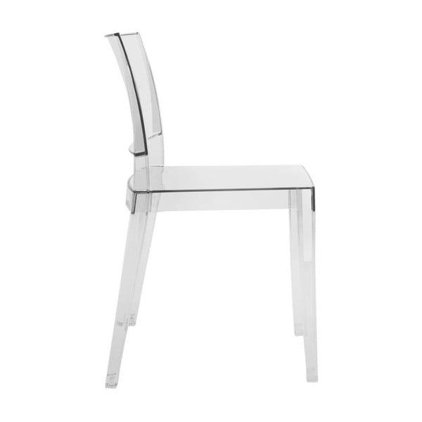 Židle Gyza, clear