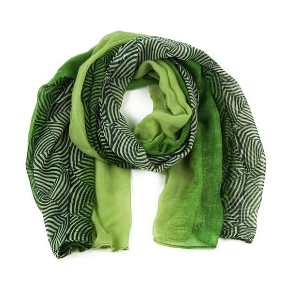 Zelený šátek Art of Polo Irene