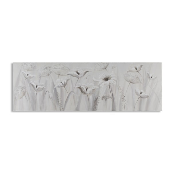 Ručne maľovaný obraz s motívom kvetín Mauro Ferretti Blossoms, 150×50 cm