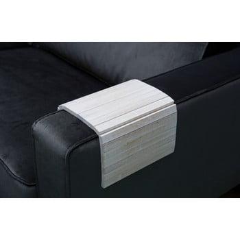 Cotieră flexibilă pentru canapea WOOOD Antique, alb
