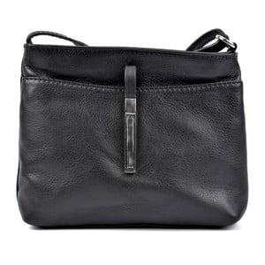 Černá kožená kabelka Roberta M Julia