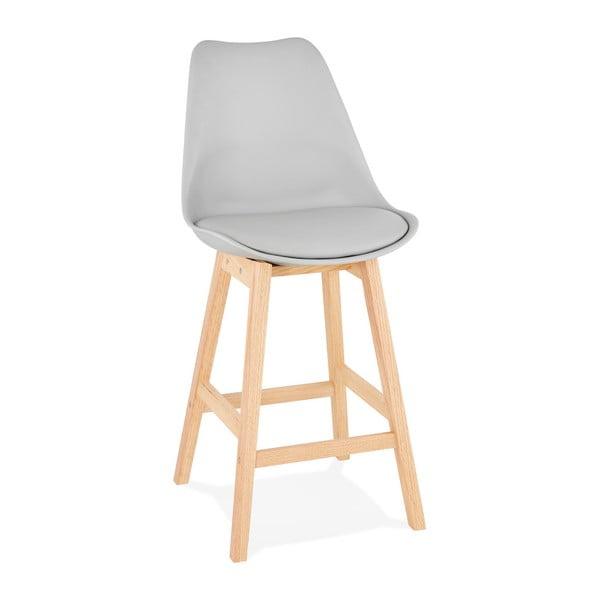 Šedá barová židle Kokoon April