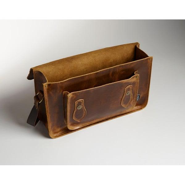 Pánská kožená taška Coach Satchel, 40 cm