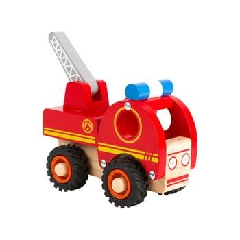 Mașinuță de pompieri din lemn pentru copii Legler Tractor
