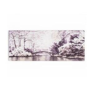 Tablou Graham & Brown Forest Bridge, 100 x 40 cm