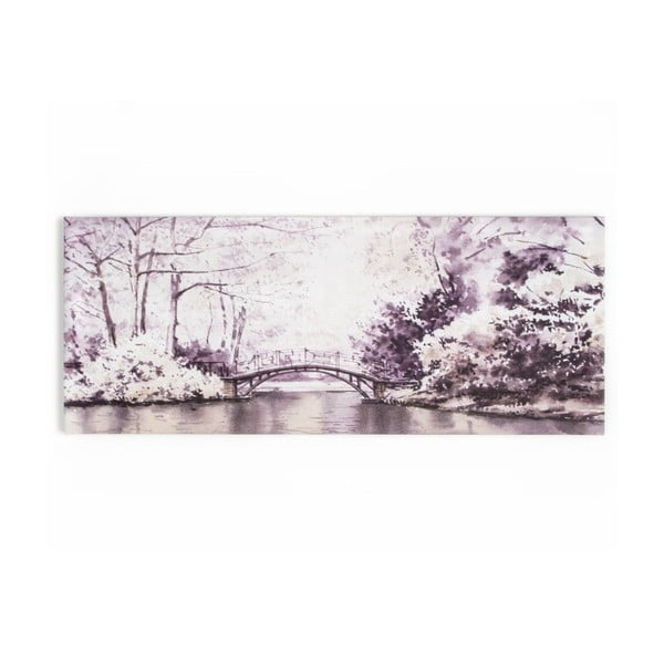 Obraz Graham & Brown Forest Bridge, 100x40cm