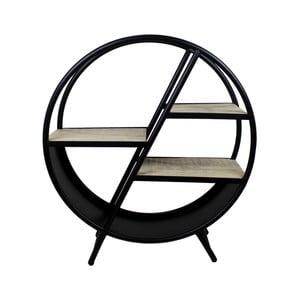 Dekorativní kruhová knihovna z mangového dřeva HSM collection