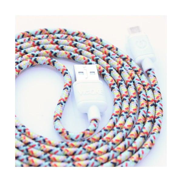 Nabíjecí kabel Micro USB Wooke Fantasy,1,5 m