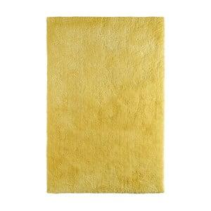 Citrónově žlutý koberec Obsession, 150 x 80 cm