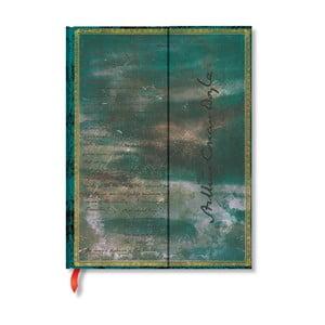 Carnețel cu copertă tare Paperblanks Sherlock Holmes, 9,5 x 14 cm