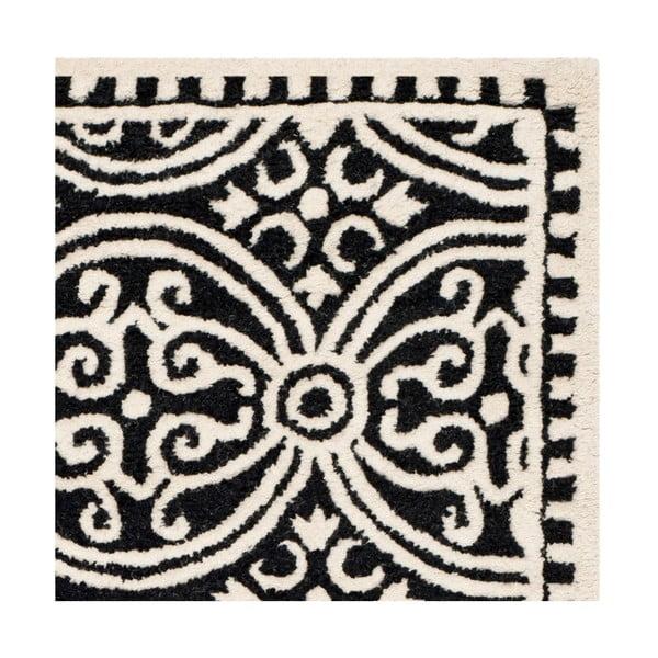 Vlněný koberec Marina Light Grey, 243x304 cm