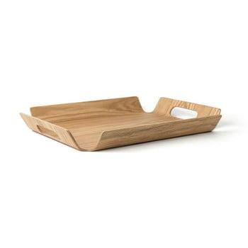 Tavă din bambus pentru servire Bredemeijer Madera, 44 cm