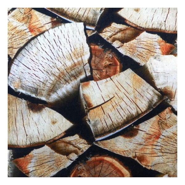 Polštář Wood Fireplace 50x50 cm