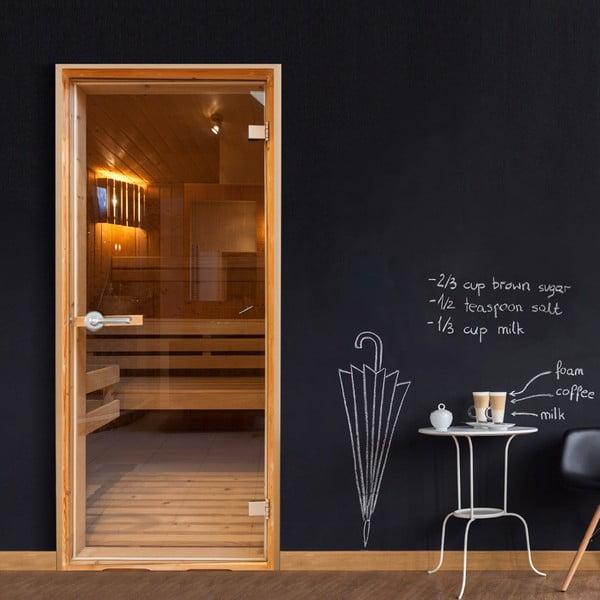 Fototapeta na drzwi Bimago Sauna, 90x210 cm