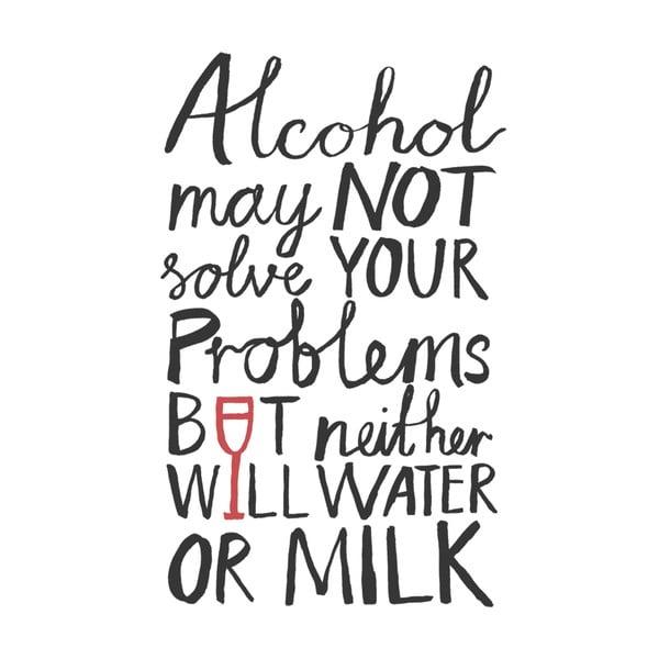 Utěrka Karin Åkesson Design Alcohol Problems, 48x78 cm