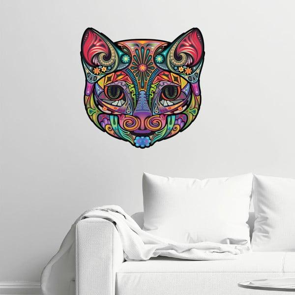 Autocolant Fanastick Multicolor Cat