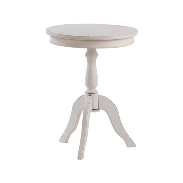Kulatý odkládací stolek White Round Table