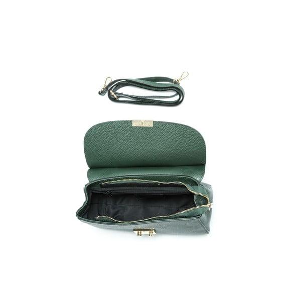 Zelená kožená kabelka Isabella Rhea no. 1190