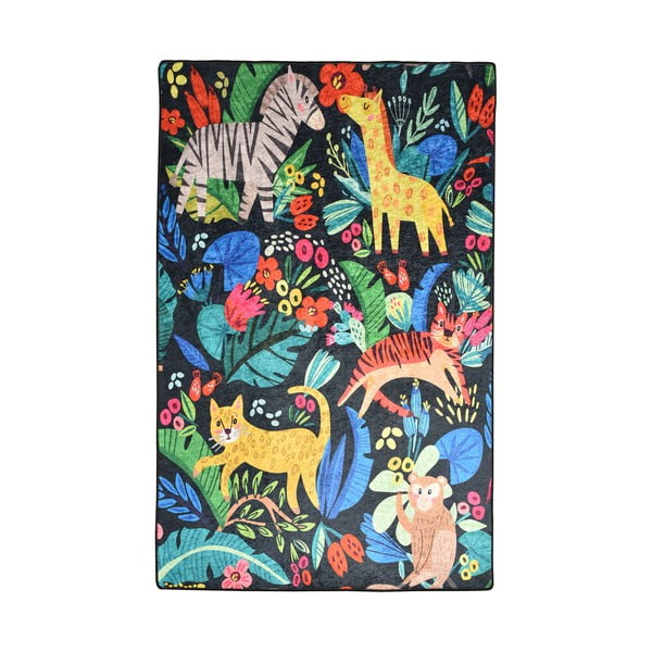 Detský protišmykový koberec Chilam Zoo, 140 x 190 cm