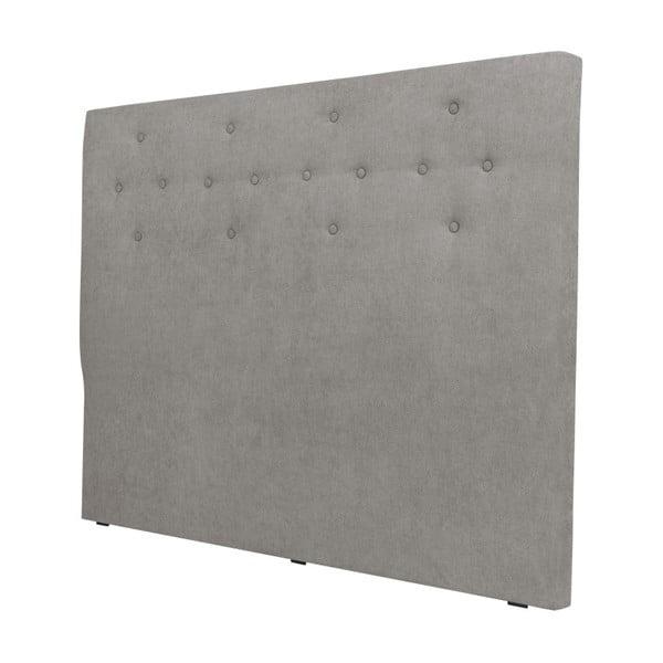 Světle šedé čelo postele Windsor & Co Sofas Phobos, 200 x 120 cm