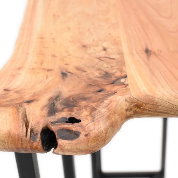 Dřevěný konzolový stolek s deskou z cedrového dřeva InArt Natural