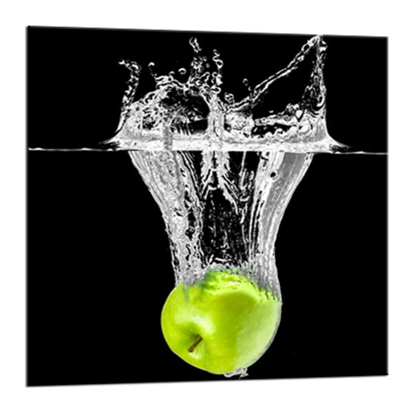 Obraz Styler Glasspik Green Fruits, 20 x 20 cm