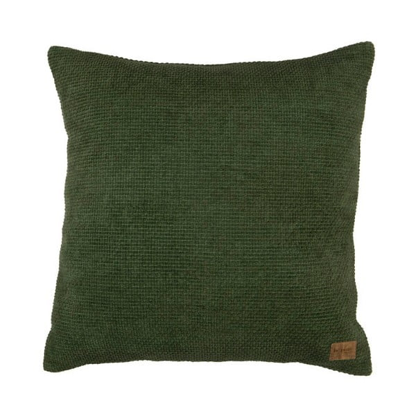 Zelený bavlněný polštář De Eekhoorn Craddle, 45x45cm