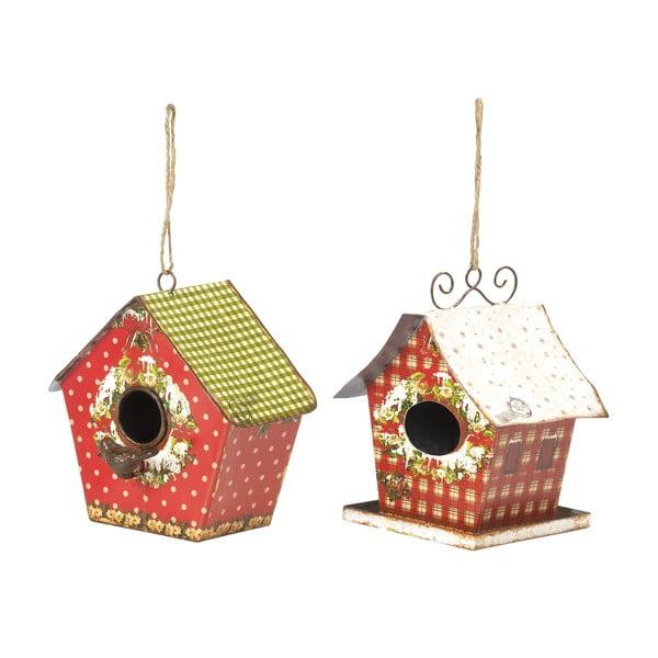 Sada 2 závěsných dekorací Bird Houses