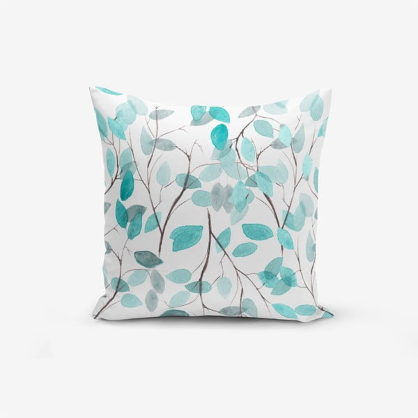 Leaves pamutkeverék párnahuzat, 45 x 45 cm - Minimalist Cushion Covers