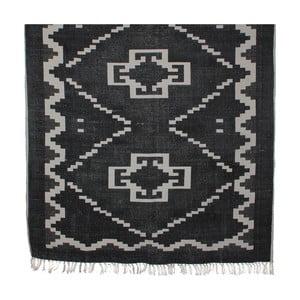 Černý koberec Mica Wiki, 120x180cm