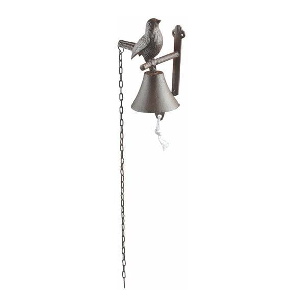 Litinový nástěnný zvonek s motivem ptáčka Esschert Design Cutie Bird