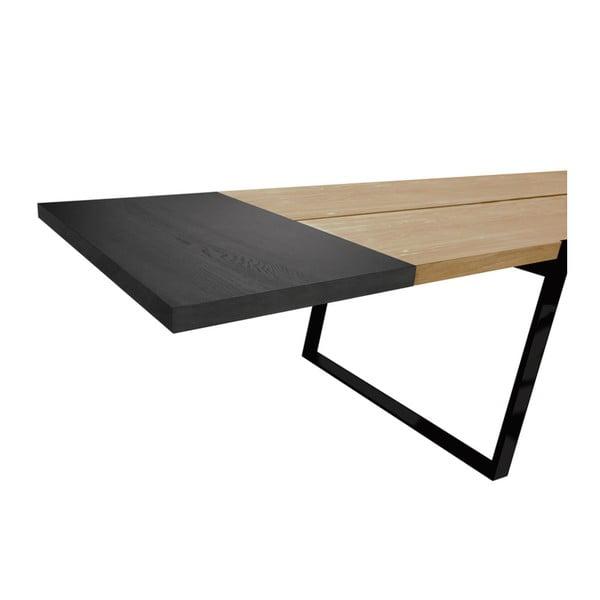Prodlužovací deska k jídelnímu stolu Canett Zilas Extension, 45x80cm