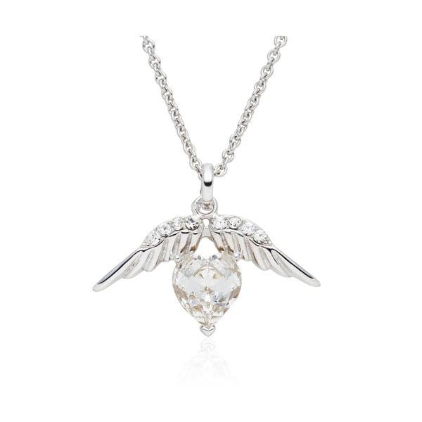 Náhrdelník se Swarovski Elements Heart Prong Crystal